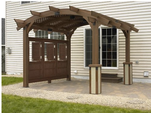 Outdoor GreatRoom Company Wooden Pergolas