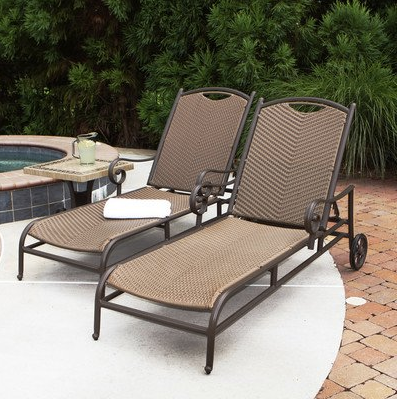Mediterranean Chaise Lounge Chairs Outdoor Patio Furniture Online