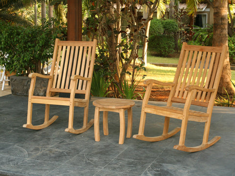 Teakwood Outdoor Rocking Chairs Elegant Teak Outdoor Patio Furniture