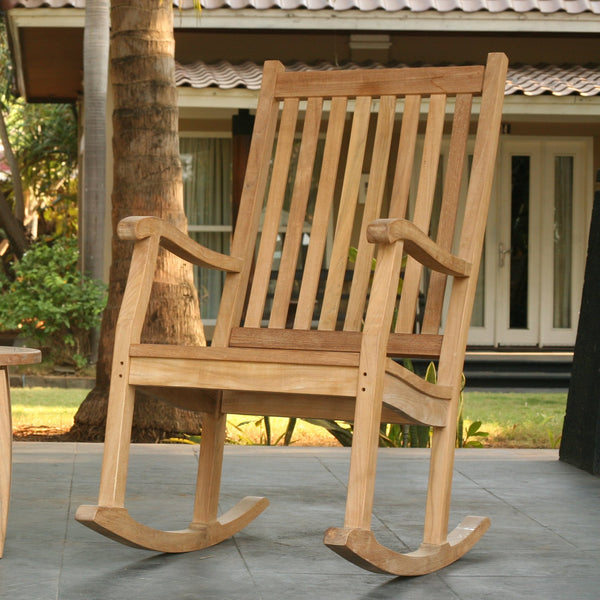 Outdoor Rocking Chairs | Teak Patio Furniture Sets
