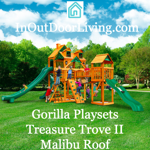 Gorilla Playsets Treasure Trove II Malibu Roof