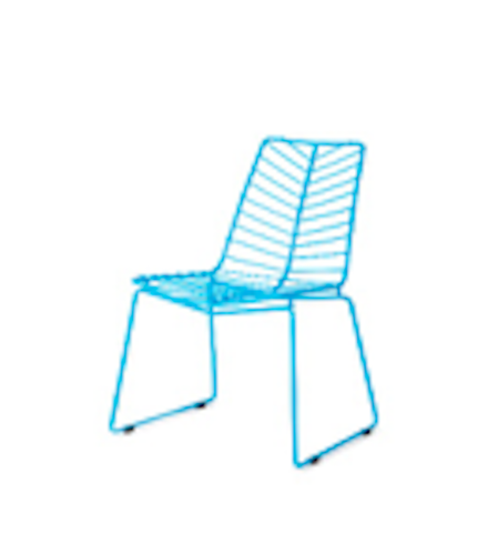 Zuo Modern Wendover Metal Outdoor Dining Chairs