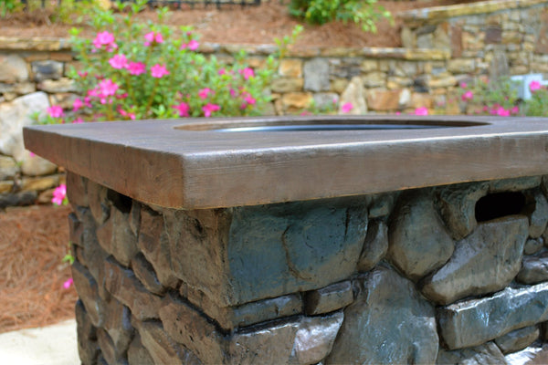 Modern Gas Firepit | Outdoor Patio