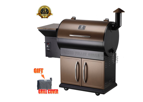 2018 Top 5 Rated Wood Pellet Smoker | Z Grills Master 700D
