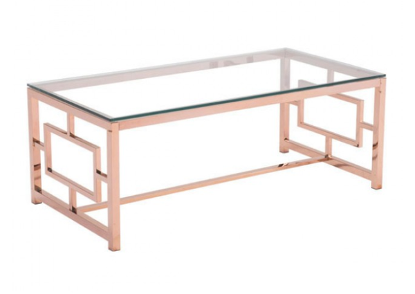 Geranium Modern Coffee Table Tempered Glass Top For Sale Online