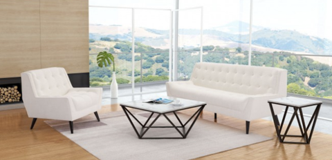 Luxurious White Sofa Online Furniture Store Modern Furniture Sale