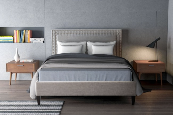 Renaissance Gray Platform Beds King Bed Queen Bed For Sale Online