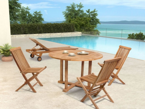 Stylish Outdoor Patio Teakwood Furniture Outdoor Chairs Outdoor Table