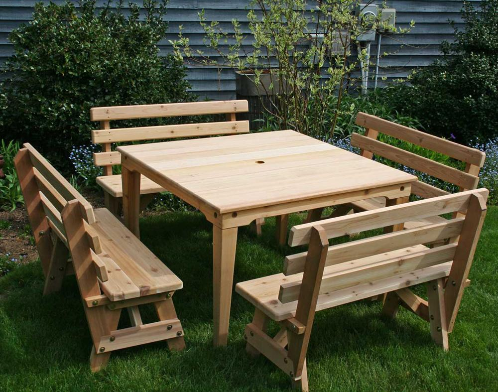 Cedar Union Dining Set