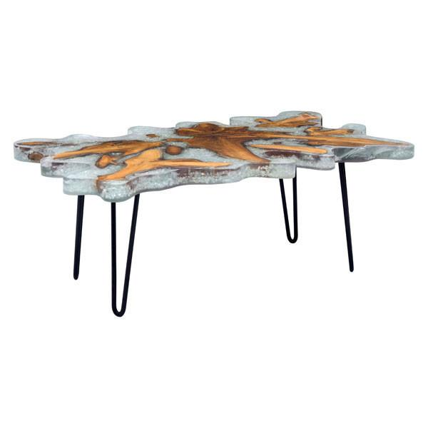 Jigsaw Teak Wood Coffee Table For Sale Online Furniture Store