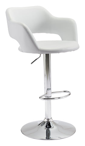 Hysteria Bar Chair White