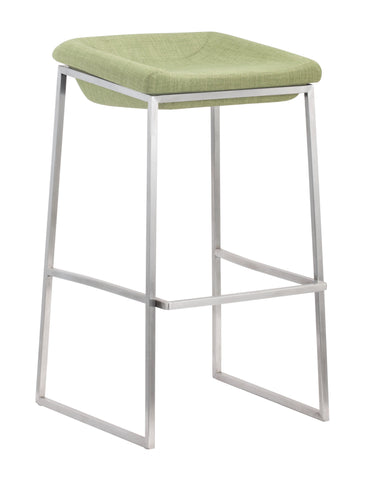 Lids Barstool Green (Set of 2)