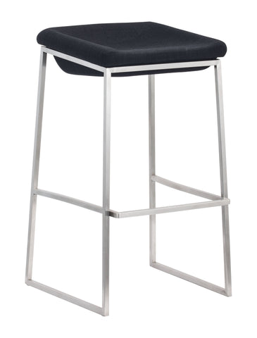 Lids Barstool Dark Gray (Set of 2)