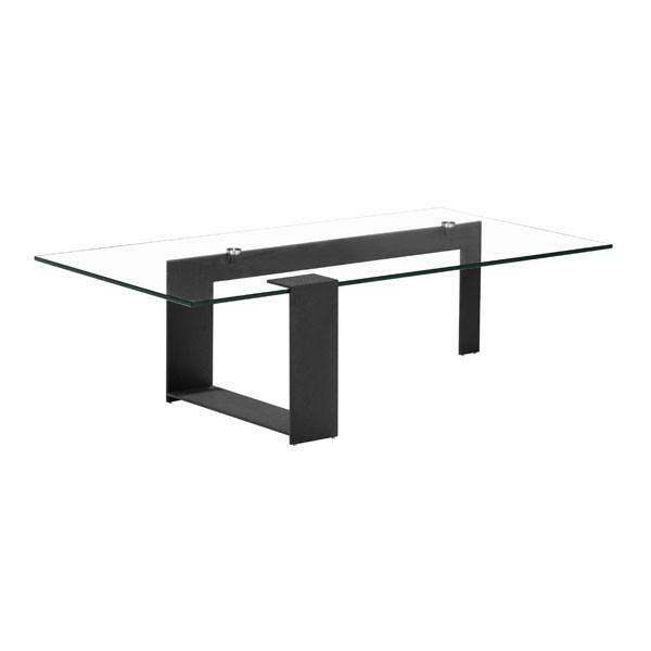 Zeon Rectangle Glass Coffee Table On Sale Online Furniture Store