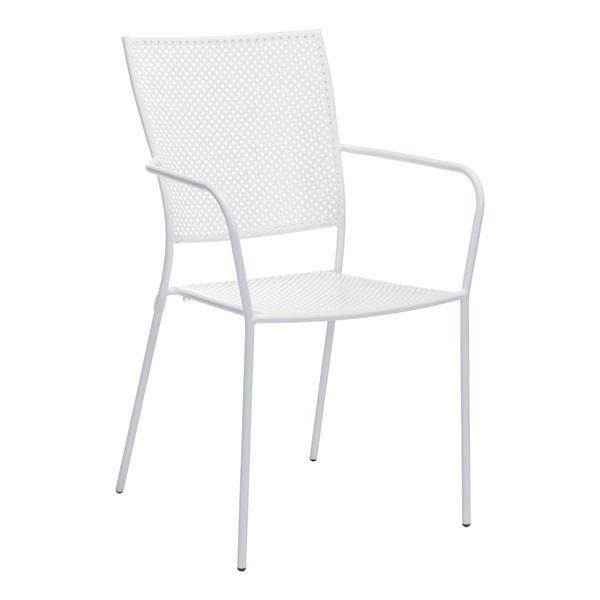 POM DINING CHAIR WHITE (Set of 2)