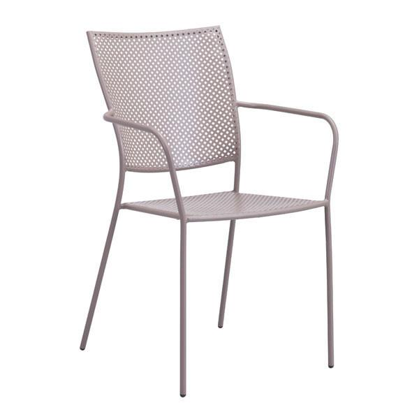 POM DINING CHAIR TAUPE (Set of 2)