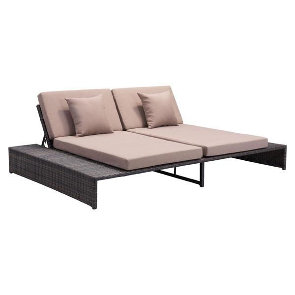 Loveseat Recliner | Outdoor Wicker Furniture