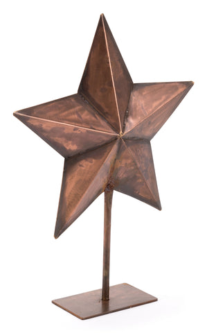 Star With Stand Copper