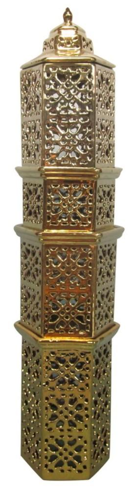 Tower decor Piece, Glossy Gold