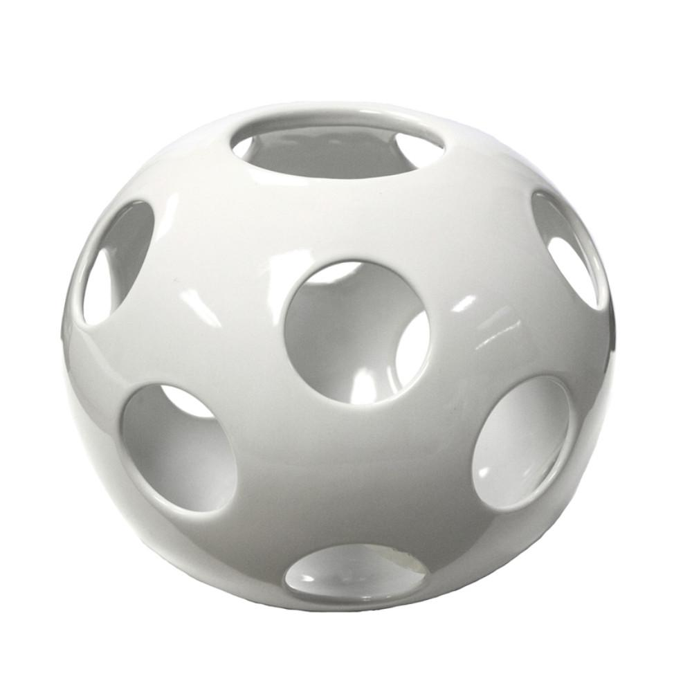 Well-designed Ceramic Sphere, White
