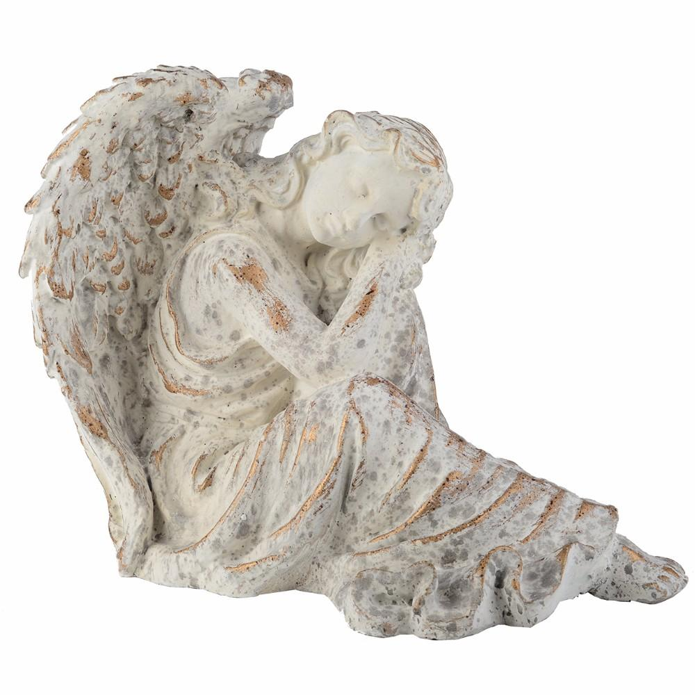 Positive Vibed Peaceful Angel Decorative Accent