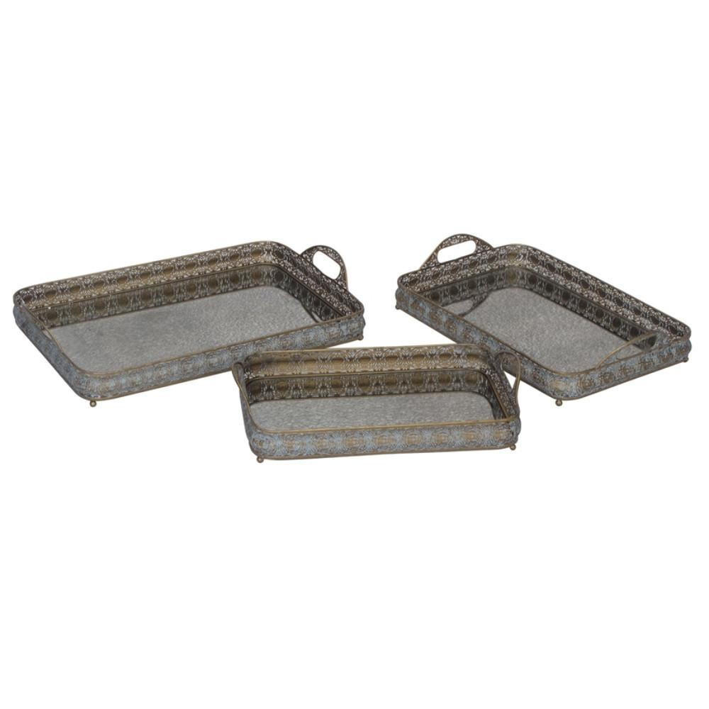 Kitchen Metal Serving Trays Modern Home Decor Store For Sale Online