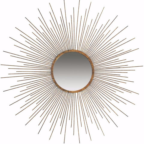 Classic Sun Inspired Wall Mirror