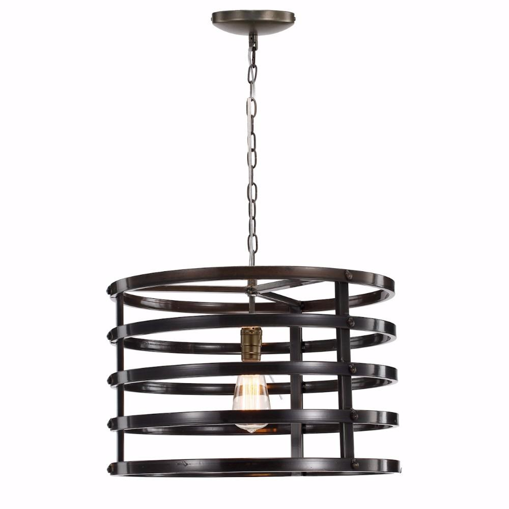 Urbanely Cultivated Ring Chandelier