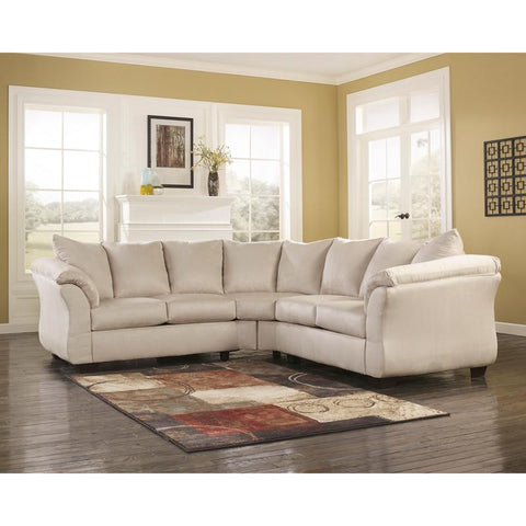 Microfiber Sectional Sofa Signature Design By Ashley Online Furniture
