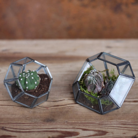 NKUKU ETHICALLY SOURCED ARTISAN HANDMADE FAIRTRADE TERRARIUM CONTAINER