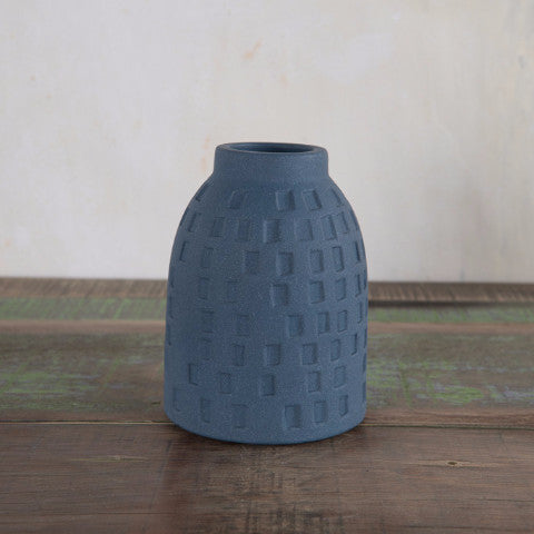 fair trade handmade homeware and gift ceramic vase using recycled material