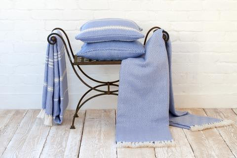 WEAVER GREEN environmentally friendly fair trade recycled material homeware and gift throw