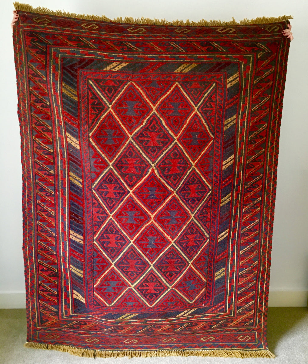 ethically sourced sustainable preloved vintage rugs