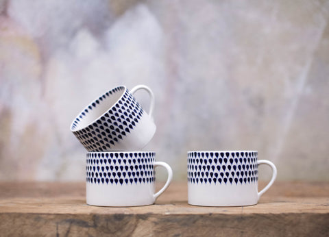 Nkuku ethically sourced hand painted fair trade homeware and gift mug