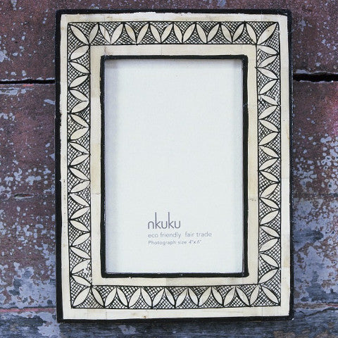 nkuku ethically sourced handmade fair trade recycled homeware and gift photo frame