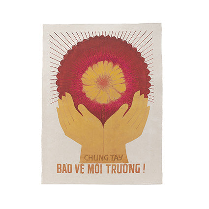 VIETNAMESE POSTER 'SAVE YOUR ENVIRONMENT'
