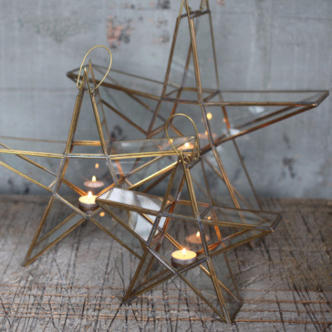 nkuku ethically sourced fair trade hand made homeware and gift standing tea light lantern