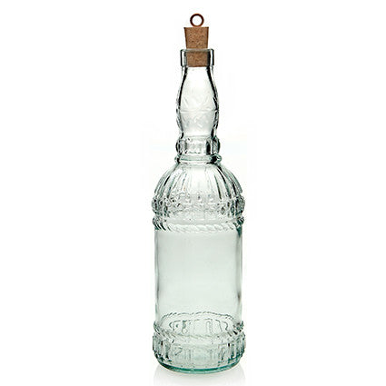 UMBRIA RECYCLED GLASS BOTTLE