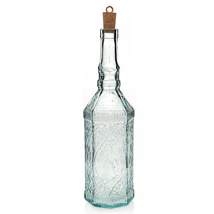 TUSCANY RECYCLED GLASS BOTTLE