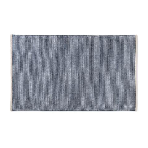 WEAVER GREEN Environmentally friendly ethically sourced homeware rug made from recycled material