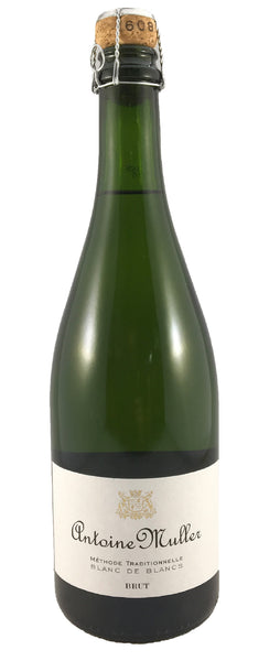 Antoine Muller Methode Traditionnelle Blanc de Blancs Brut, Alsace, Vin de France