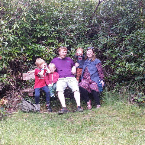 Giolla Liddy & family from Artwood Ireland