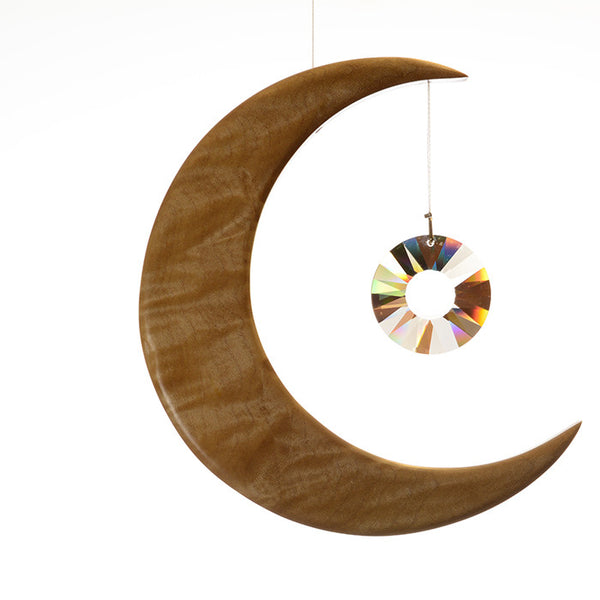 Large Sycamore Moon Suncatcher - ArtwoodIreland - 1