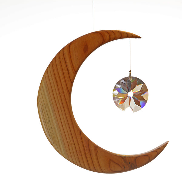Large Yew Moon Suncatcher Gift - ArtwoodIreland - 4