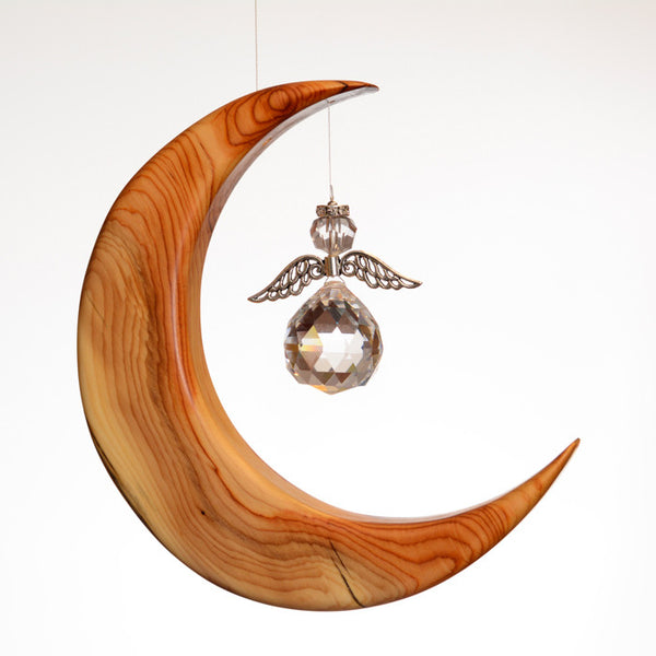 Large Yew Moon Suncatcher Gift - ArtwoodIreland - 2