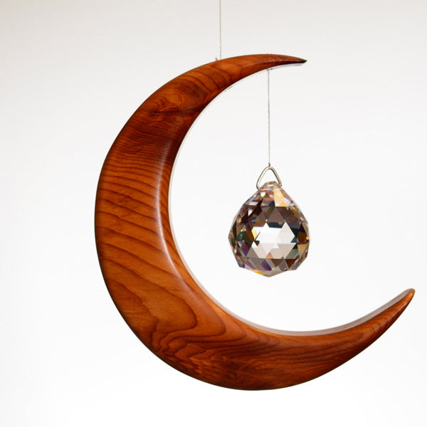 Medium Yew Moon Suncatcher - ArtwoodIreland - 1