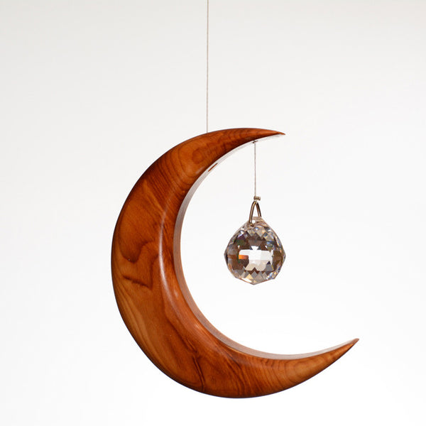 Small Yew Moon Suncatcher - ArtwoodIreland - 1