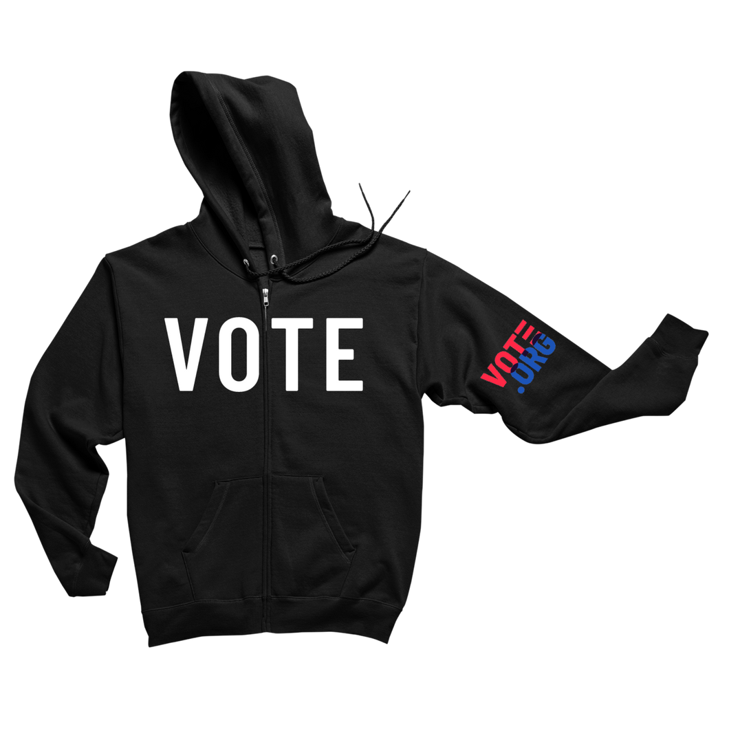 Vote Zip-Up Hoodie