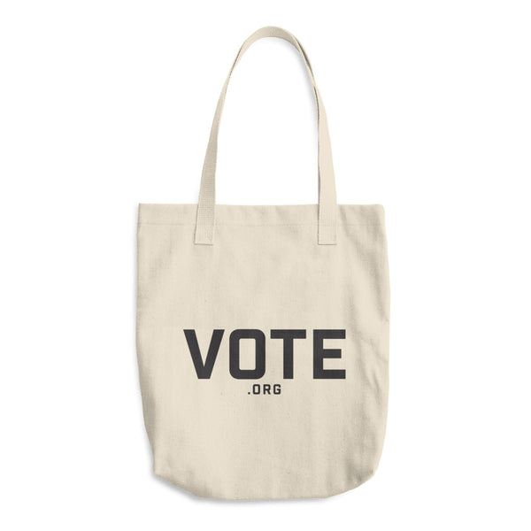 Tote -- Vote.org hipster logo