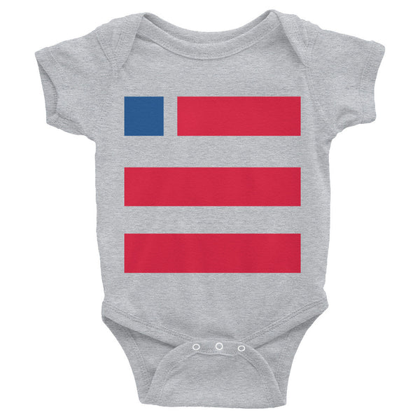 Infant onesie - Vote.org square logo